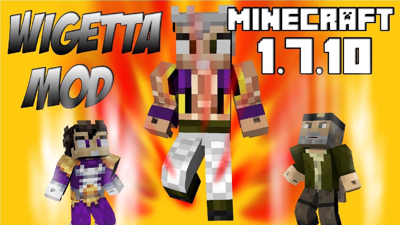 WIGETTA MOD El Mod De Willyrex Y Vegetta Minecraft Mod - Skin para minecraft wigetta