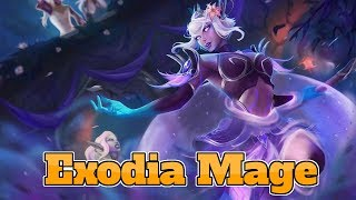 [Legend] Exodia Mage The Boomsday Project | Hearthstone Guide How To Play