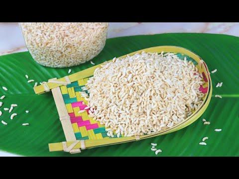 বাড়িতে নিজেই বানিয়ে নিন মুড়ি (বালু বা তেলে ভাঁজা ছাড়াই) | Muri Recipe,Puffed Rice | Bangladeshi Muri