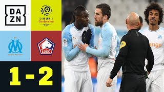 Böller-Skandal bei Mario Balotellis Debüt: Marseille - OSC Lille 1:2 | Ligue 1 | DAZN Highlights