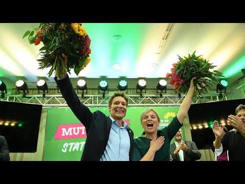 انتخابات بافاريا: حزب الخضر يكسر موجة صعود اليمين المتطرف ويحتل المركز الثاني…  - 08:53-2018 / 10 / 15