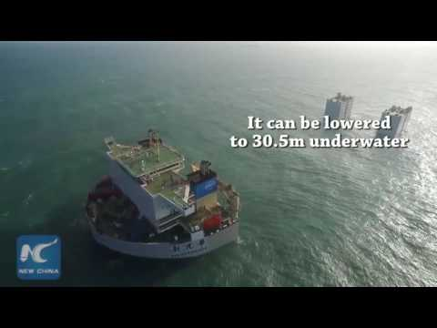 Hercules maritime forklift! China's largest semi-submersible ship delivered
