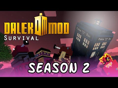Minecraft Dalek Mod Let's play - Episode 6 - Digfest