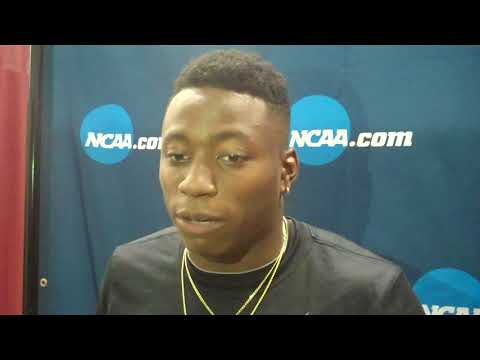 Superstar Grant Holloway of Florida After Day 1 NCAA Indoor