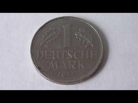 1 Deutsche Mark Germany 1974 D   Amazing Coin