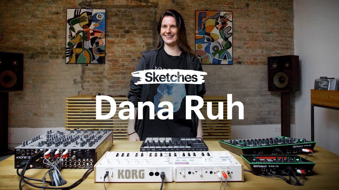 Sketches: Making techno live in MASCHINE+ with Dana Ruh | Native Instruments