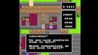 Dragon Warrior III [NES] Playthrough #24, Tedanki: The Town of the Dead; Lancel: Invisibility Herb