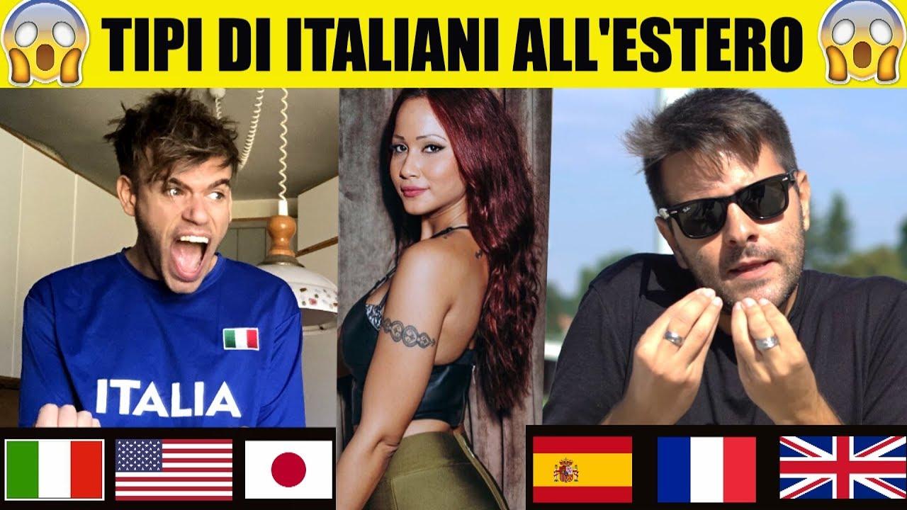 TIPI DI ITALIANI ALL'ESTERO - Parodia - iPantellas