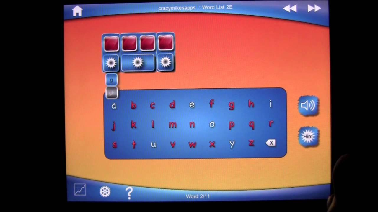 Simplex Spelling HD, best phonics spelling app - PyxWise