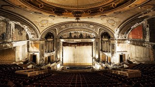 Exploring an Abandoned Movie Theater - Incredible Ornate Design!
