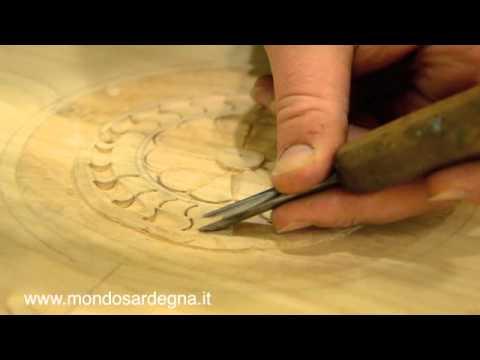 Artigianato Artistico Sardo  Intaglio del legno  YouTube