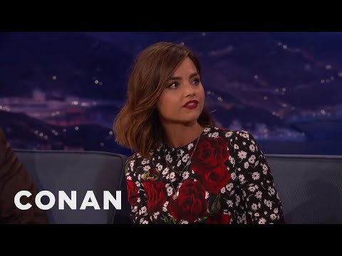 "Jenna Coleman On How Best To Enjoy ""Doctor Who""  - CONAN on TBS"