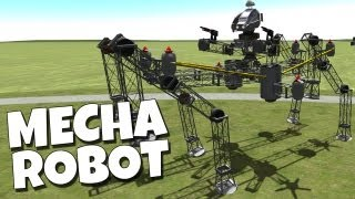 Viking Space Program - Mecha Robot