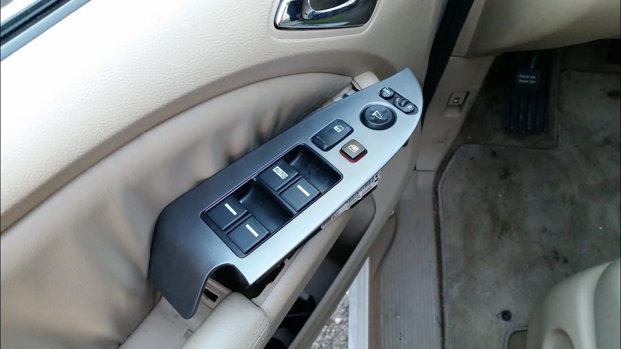 2005 Honda Odyssey Interior Lights Not Working