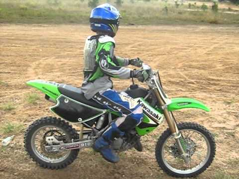 Small Yamaha Dirt Bike