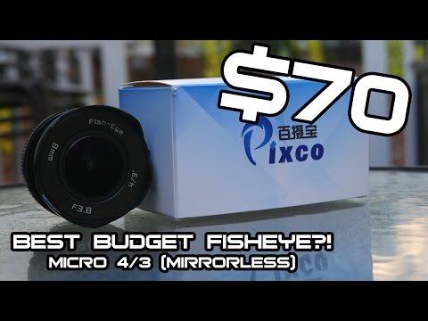 BEST BUDGET FISHEYE FOR MICRO 4/3! [GH5, G7, G85] ($70)