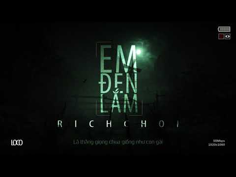 RICHCHOI (LOCOBOIZ) - EM ĐEN LẮM (REP RICK) - OFFICIAL AUDIO