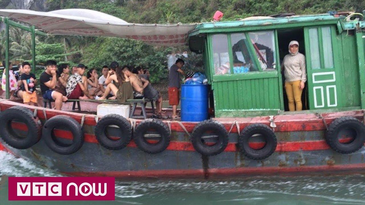 Quảng Ninh:  Hàng trăm tàu lừa, ép khách du lịch bị thiêu hủy