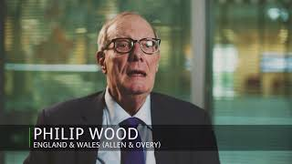 The law is one of our greatest exports - Philip Wood