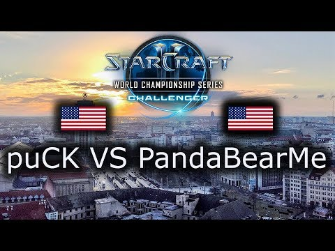 puCK VS PandaBearMe - WCS Leipzig NA Qualifier - Group Stage - polski komentarz - PvZ