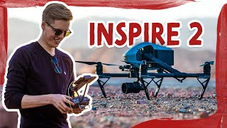 DJI Inspire 2 mit X5S Kamera | REVIEW | DEUTSCH | GERMAN
