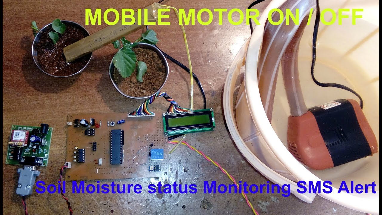 Mobile Starter Gsm Based Remote Motor Controller And Status Information Advantages Building A Stepper Monitoring