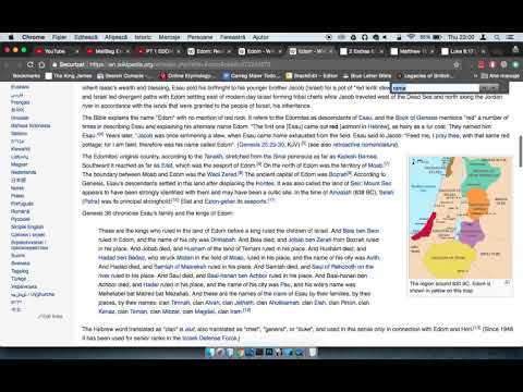 RE: EDOM-ROME: THE HERODIAN DYNASTY, ANTIPATER THE IDUMEAN, HISTORY (GMS FAQ)