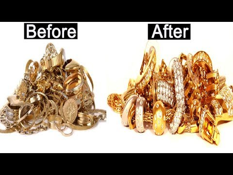 How to Clean Gold Jewellery at Home    Clean & Shine Gold Chain