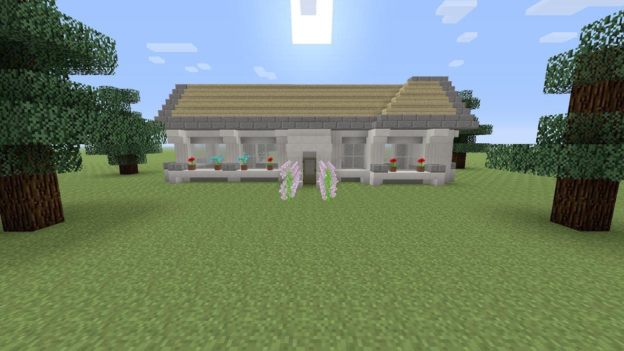 Minecraft een modern huis bouwen youtube for Huis maken minecraft
