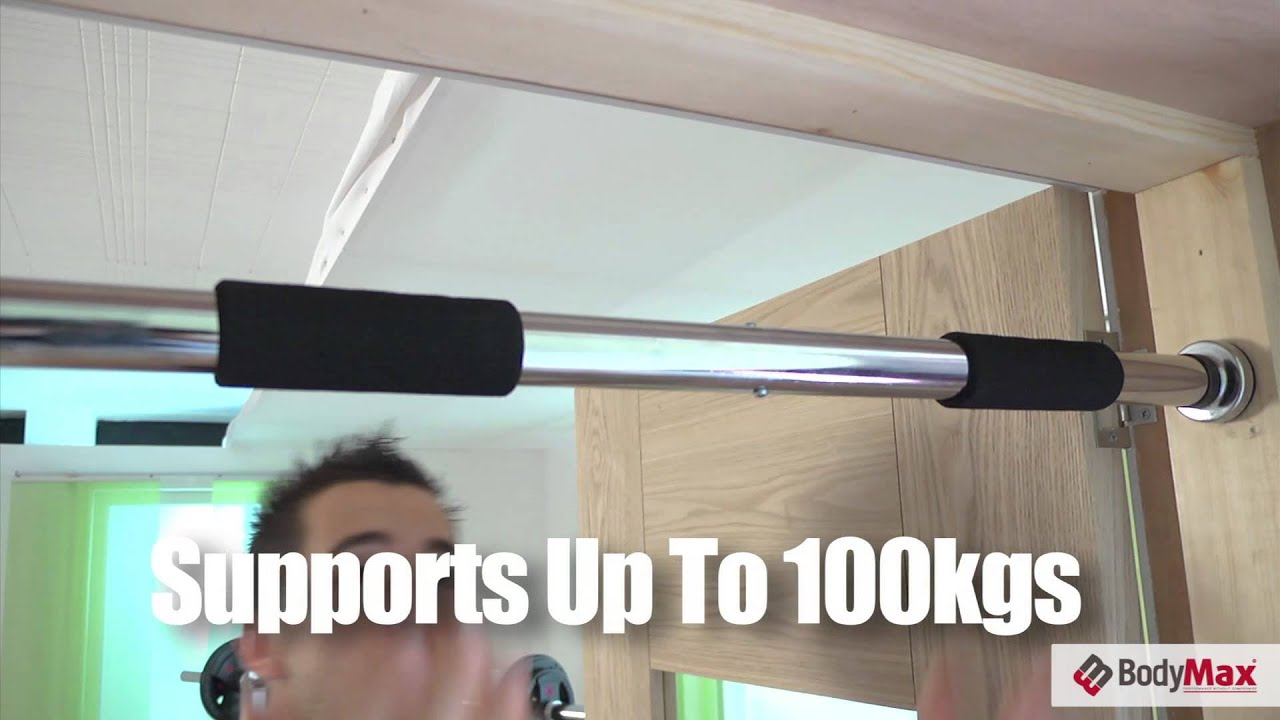 Bodymax Doorway Pull Up Bar And Chin Up Bar Youtube