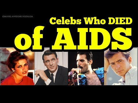 Famous People Who Died Of HIV/AIDS