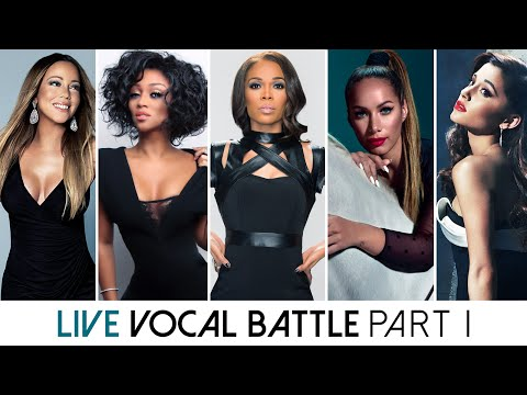 Live Vocal Battle | Light Sopranos : Mariah, Chante, Michell