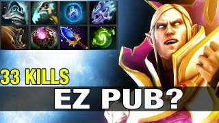 EZ PUB? YapzOr Top 76 EU Plays Invoker With 33 Kills - Dota 2