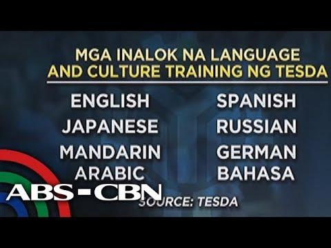 TV Patrol: TESDA may 5,000 scholarship sa mga nais matuto ng ibang wika