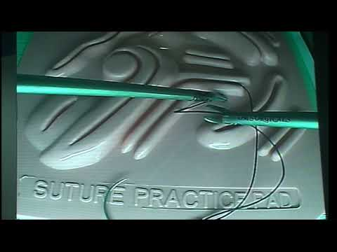 Laparoscopic Suturing Simplified Step By Step With Voice Over