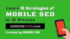 Mobile SEO Strategies - Learn SEO In 10 Minutes