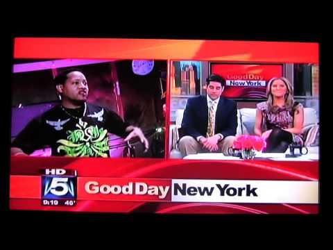 DJ DIAMOND ON FOX 5 GOOD DAY NEW YORK
