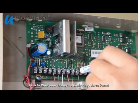 Honeywell | How to Wire your Alarm Panel - YouTube on