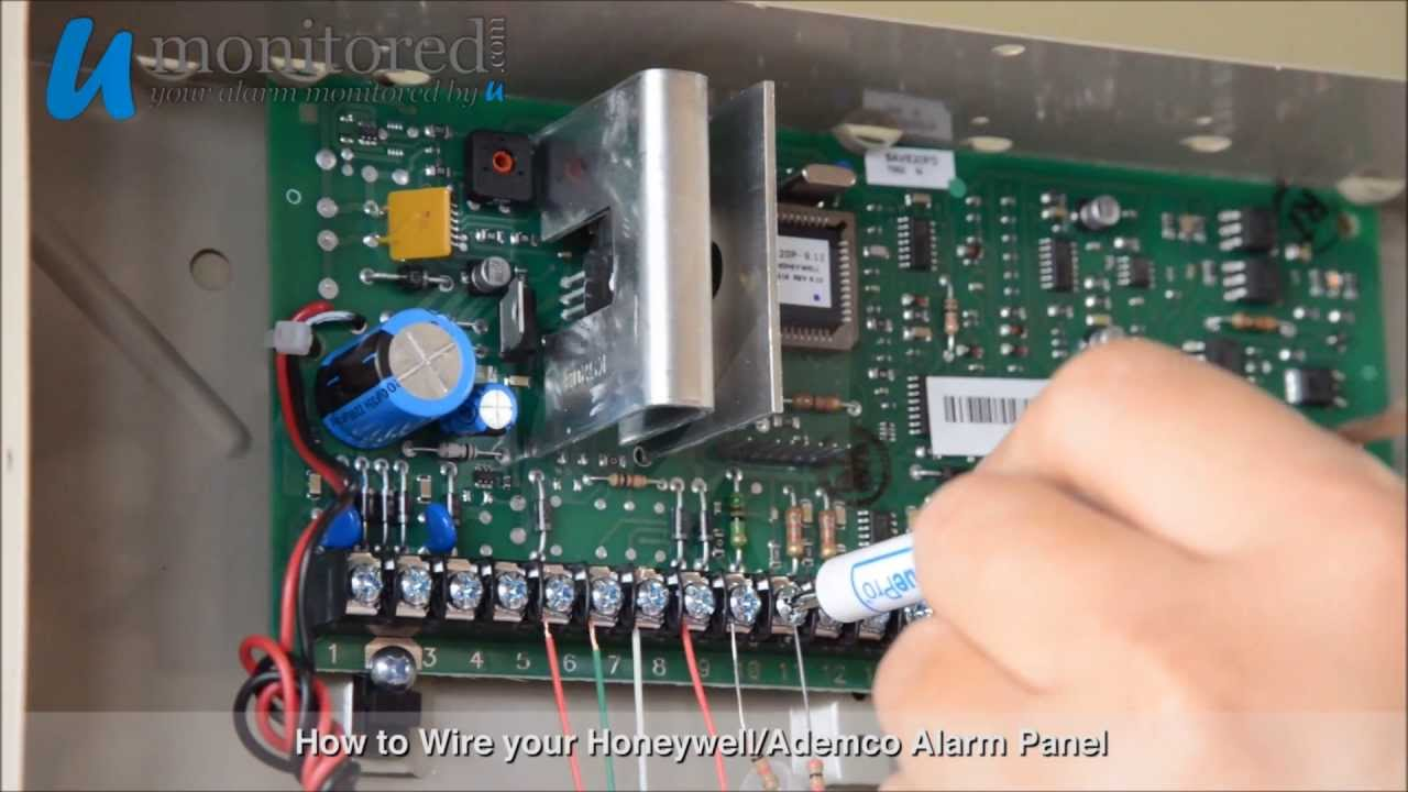 Honeywell | How to Wire your Alarm Panel  YouTube