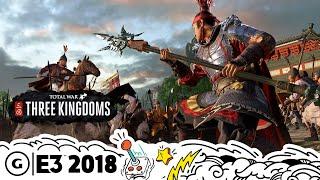 Total War: Three Kingdoms Live Gameplay Demo | E3 2018