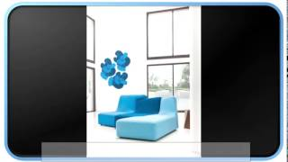 Blue Modern Furniture Sofas