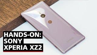Uma repaginada na Sony! Como ficou o Xperia XZ2? - Hands-on (Português)