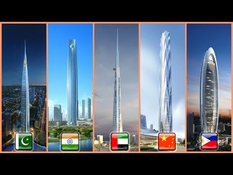 ASIA'S TALLEST BUILDINGS COMPARISON