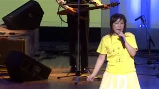 「中村悦子コンサート2018」のアンコールに応えて「真田街道みちしるべ...
