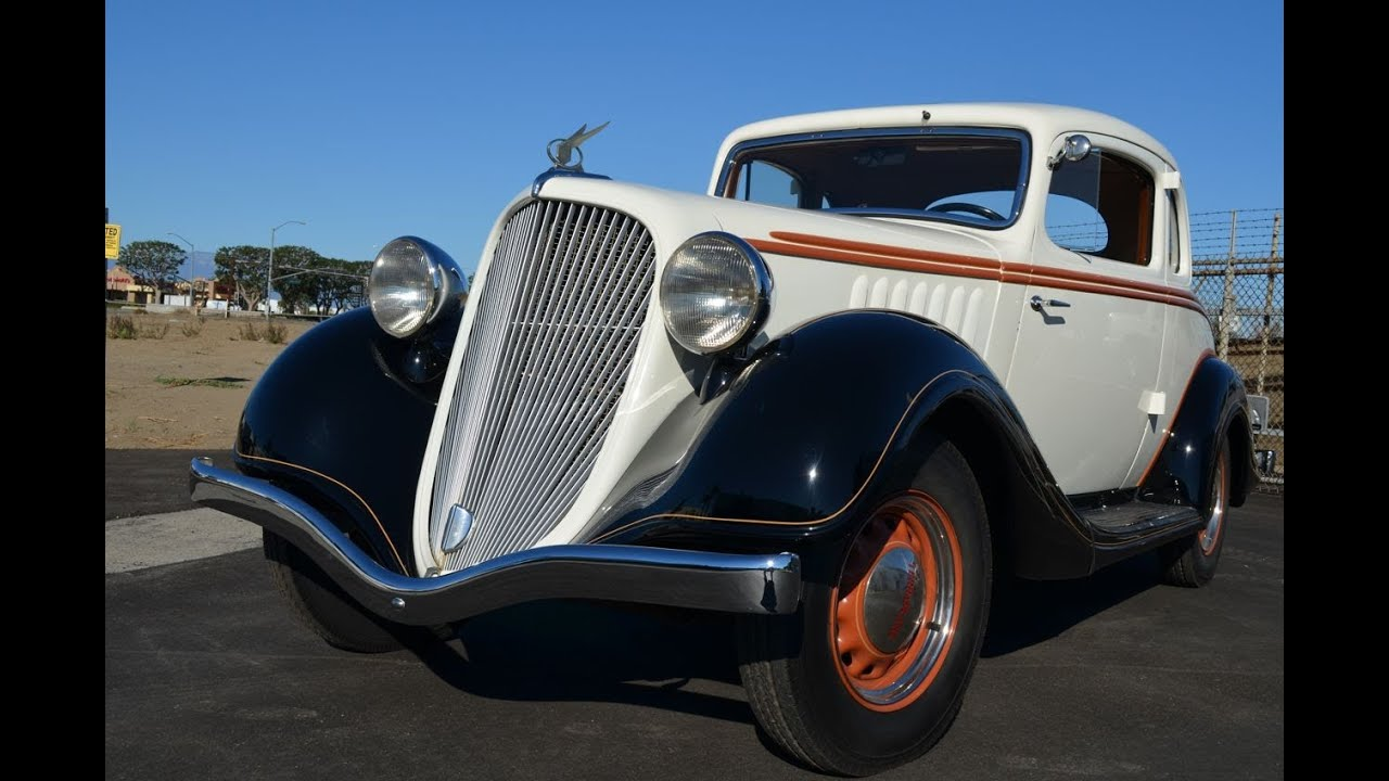 For Sale: 1934 Hudson Terraplane Rumble Seat Coupe - YouTube