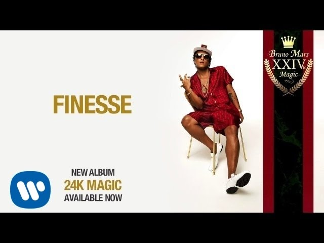 Bruno Mars - Finesse [Official Audio]