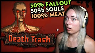AMAZING NEW RPG with a hint of Fallout & Dark Souls. [DEATH TRASH : DEMO]