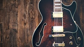 Soulful Bluesy Groove   Guitar Backing Track Jam in A Minor