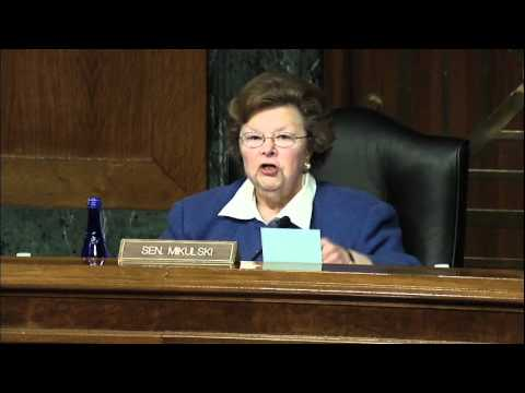 Senator Mikulski Convenes Hearing on Child Abuse Prevention and Reporting