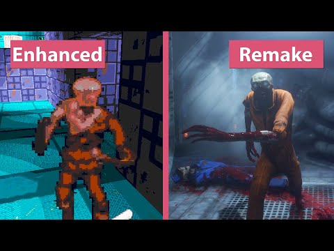 System Shock – Enhanced Edition vs. Remake (Demo) Graphics Comparison